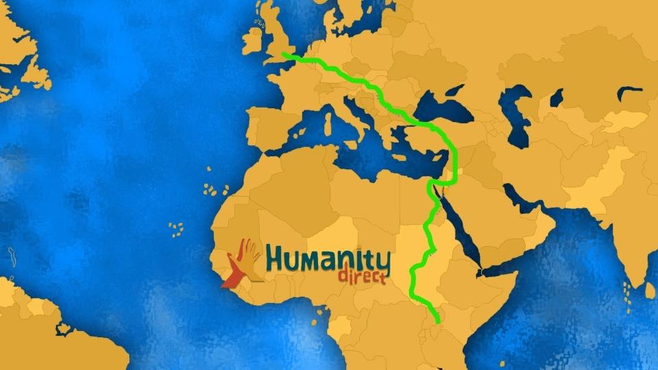 HUMANITY DIRECT VIRTUAL RUN TO UGANDA